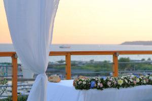 villa punta pennata matrimoni Bacoli